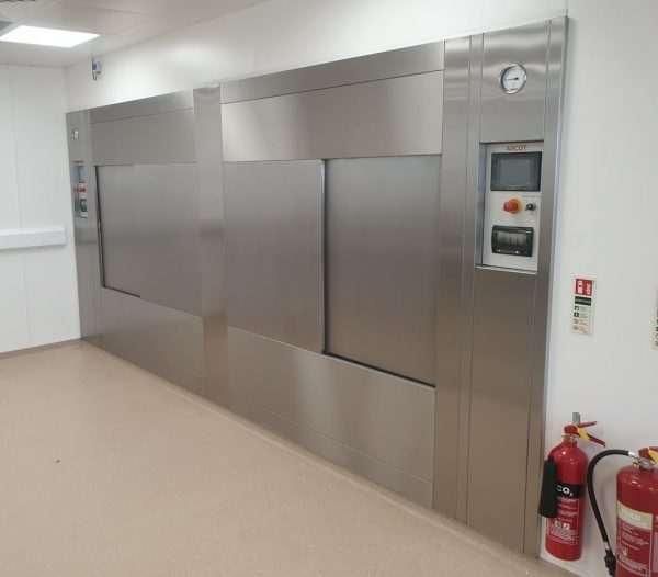 Ascot bespoke autoclave design and build